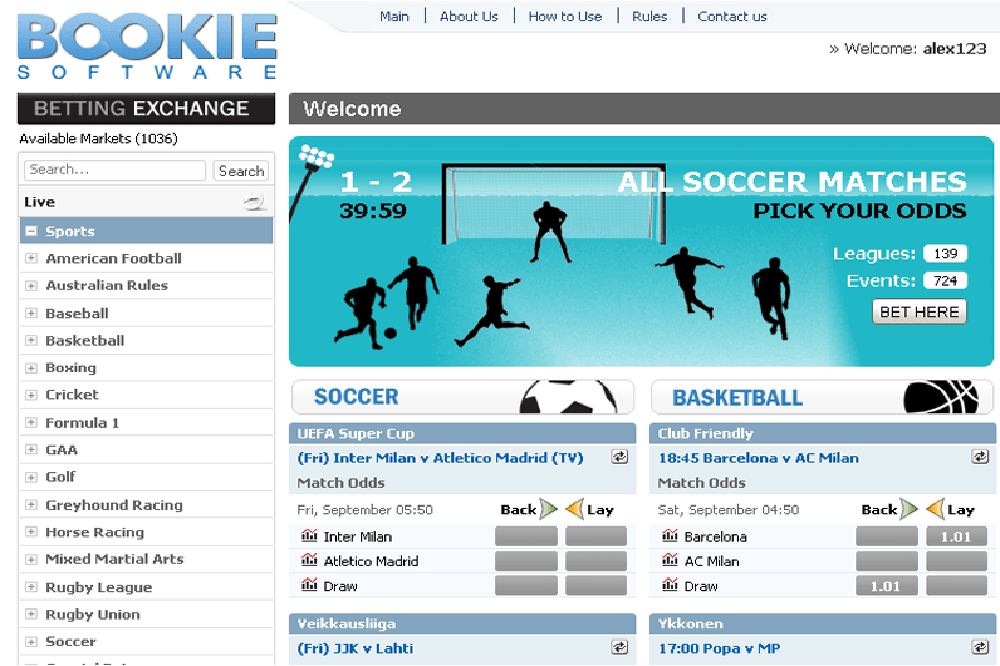 Sports betting bookie software sports como mineral bitcoins no android found